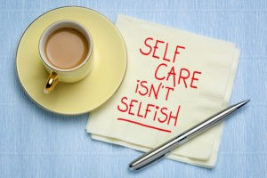 Family caregivers need to take time out for self care.